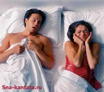 нарушение дыхания во сне