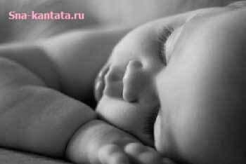 Продолжительность сна грудного ребенка
