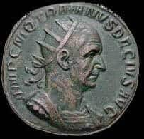 Монета Деция Траяна