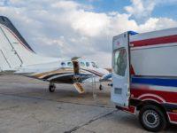 Транспортировка больных авиацией