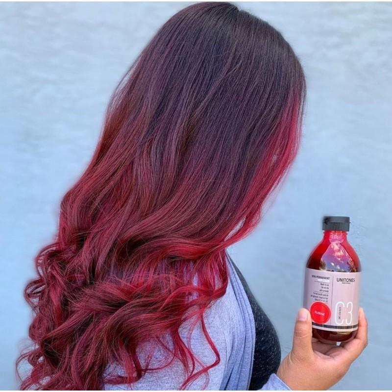 красная краска для волос