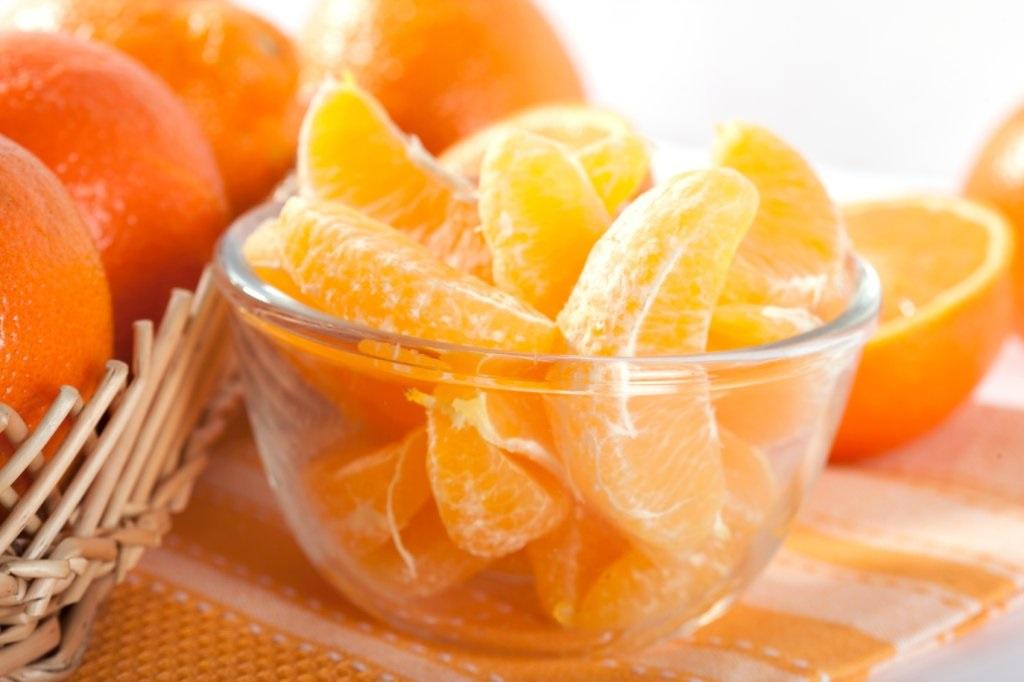 лечение авитаминоза апельсин