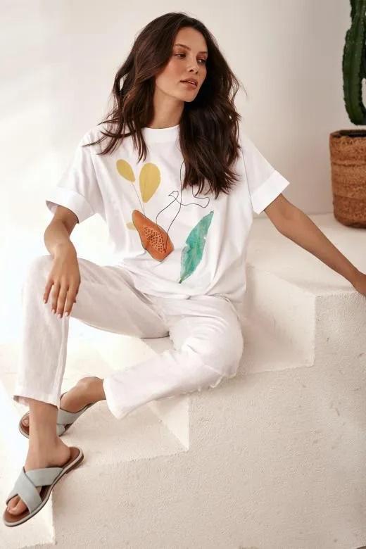 летние женские футболки